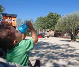 Parque infantil en Quijorna