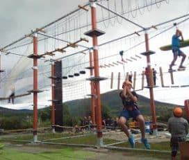 MERIDIANO parque de cuerdas