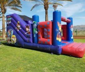 Alquiler Castillos Hinchables en MURCIA | Toro Mecánico | Colchonetas para Fiestas Infantiles y Cumpleaños.