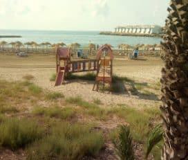 Columpios Playa Las Fuentes