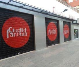 Ciudad Fantasía. Restaurante con zona infantil, cumpleaños y fiestas en Valencia