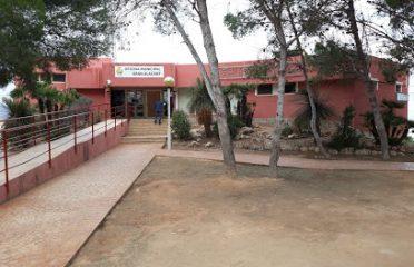 Parque infantil municipal Centro de Salud y Biblioteca