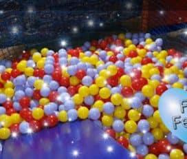 Fes Festa. Sala para cumpleaños y fiestas con chiquipark