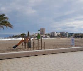 Parque Infantil en la Playa
