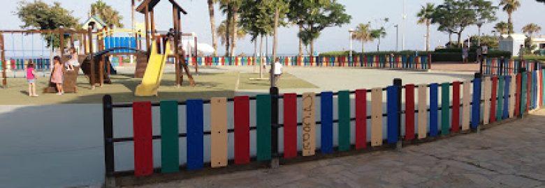 Parque Adaptado Area de Juegos Infantiles