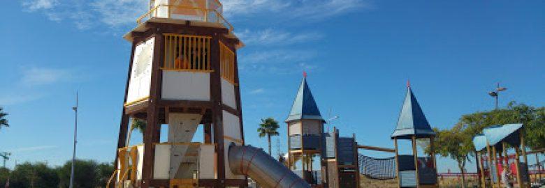 """parque infantil """"el cohete"""""""