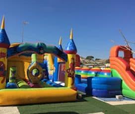 Alquiler de Colchonetas Hinchables para Cumpleaños y Comuniones en Alicante y Murcia