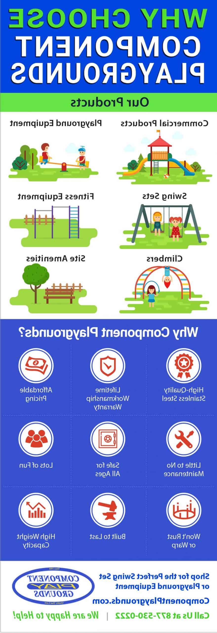 Por qué elegir Component Playgrounds Infographic - Acerca de Component Playgrounds Utah