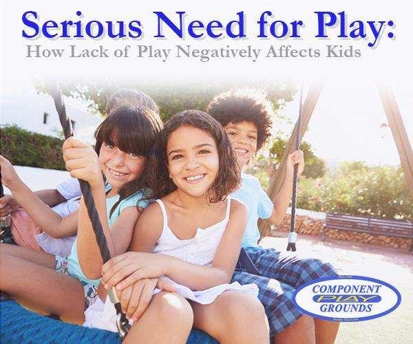 Una seria necesidad de jugar: Cómo la falta de juego afecta la negatividad a los niños