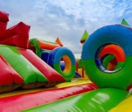 Alquiler Colchonetas Hinchables en Murcia | Castillos Hinchables para Fiestas Infantiles | Toro mecánico Murcia