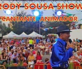 Rody Sousa Show, Cantante, Animador